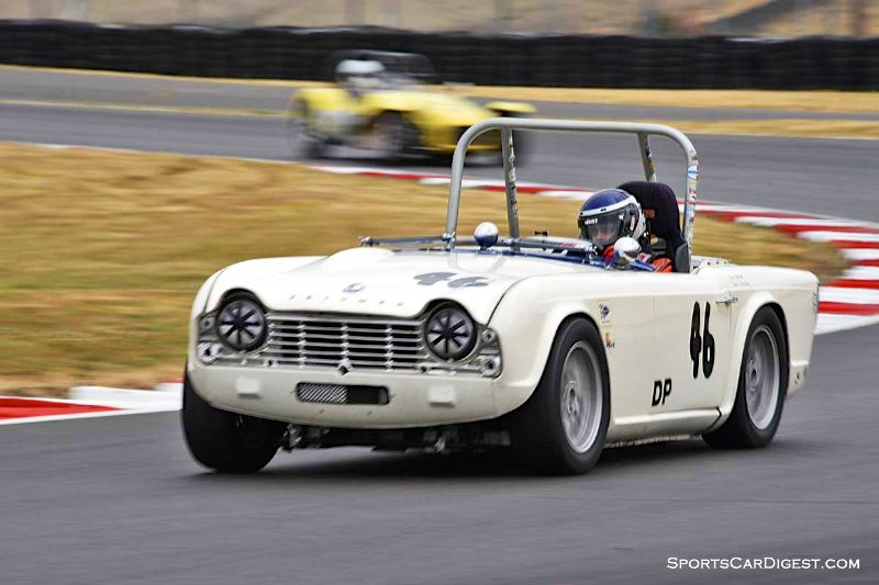 Michael Mehl's 1962 Triumph TR4 at Portland Historic Races 2015