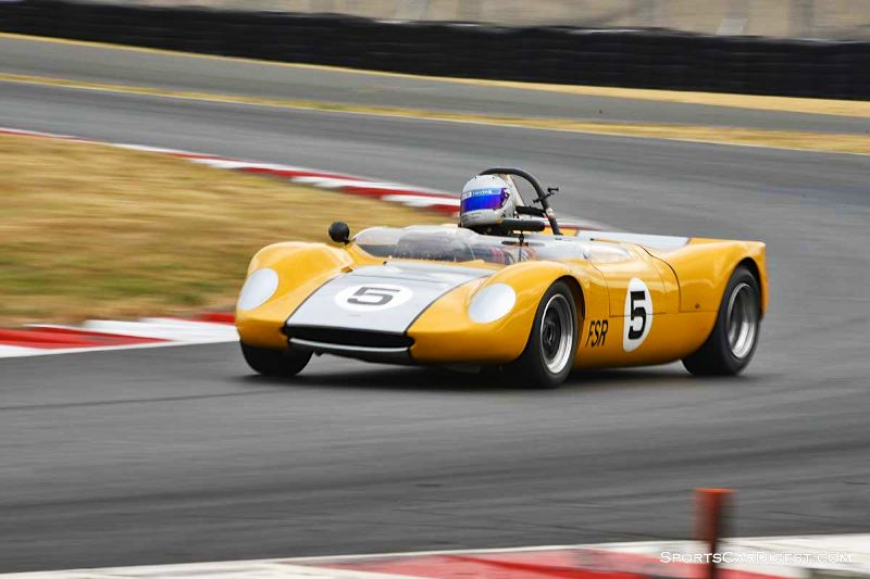 John Rankin's 1965 Beach Mk 4B at Portland Historic Races 2015