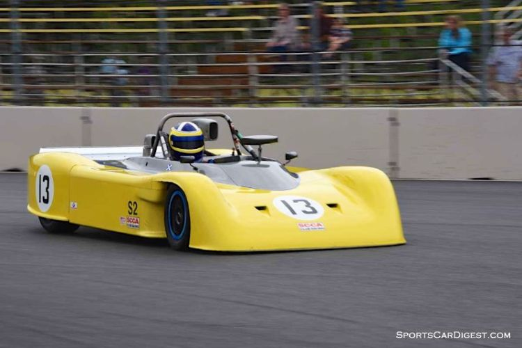 Tony Carruthers' 1986 Swift DB2 at Portland Historic Races 2015