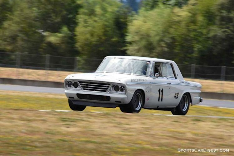 Jeff Taylor's 1964 Studebaker Daytona at Portland Historic Races 2015