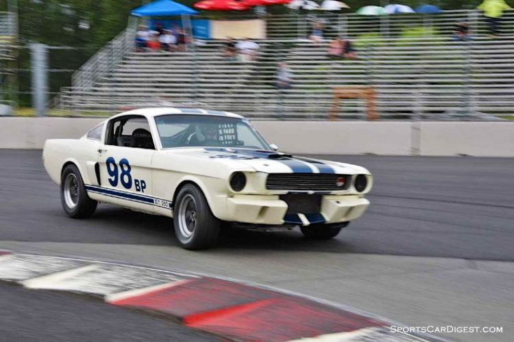 Bob Hooper's 1966 Ford Mustang at Portland Historic Races 2015