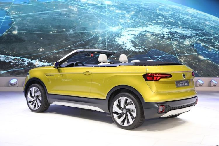 Volkswagen T-Cross Breeze Concept