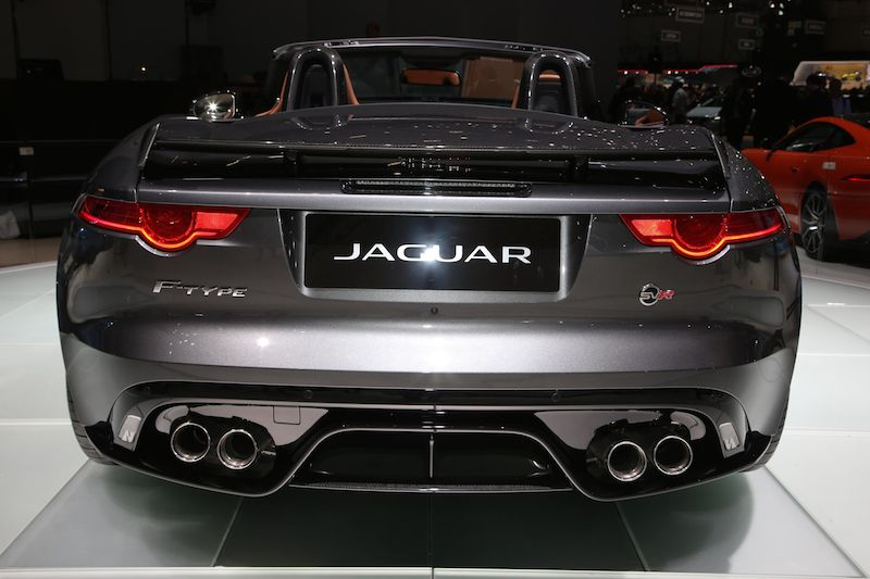 Jaguar F-Type SVR Roadster