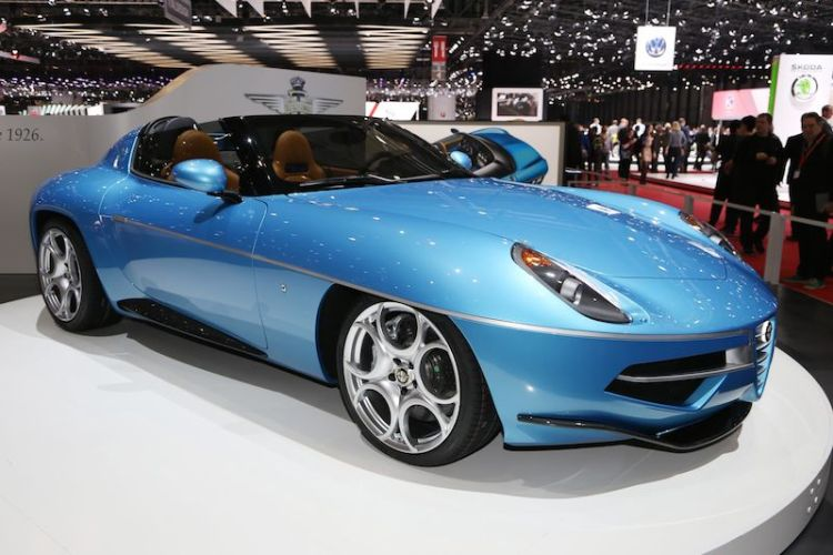 Alfa Romeo Disco Volante Spider by Touring Superleggera