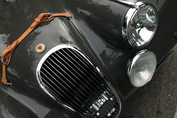 1949 Jaguar XK 120 OTS detail