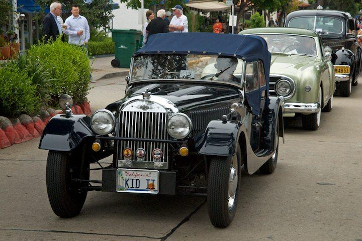 1953 Morgan +4 4-Seater