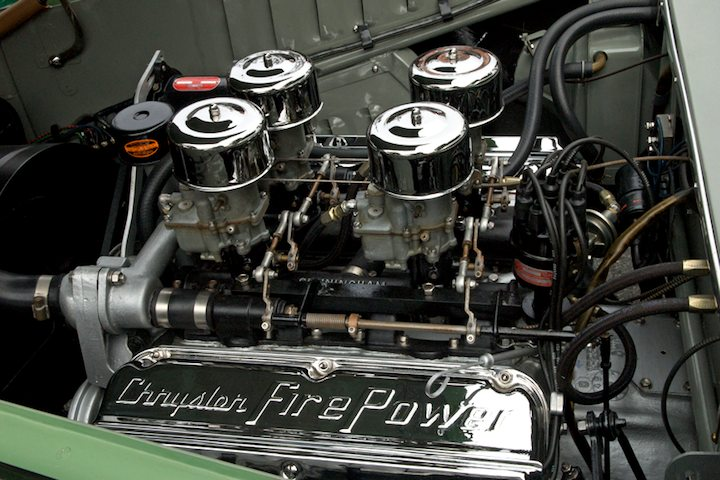 Cunningham C-3 Vignale Coupe - Chrysler Fire Power 4-pack engine