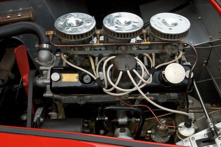 1957 AC Ace Bristol engine