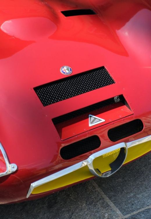 1965 Alfa Romeo TZ2, David Sydorick