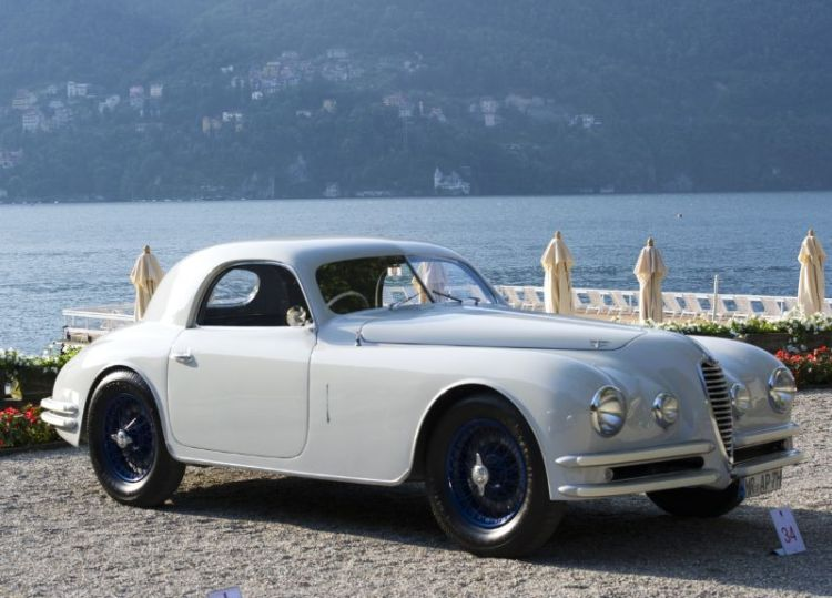 1946 Alfa Romeo 6C 2500 SS, Andras Pohl