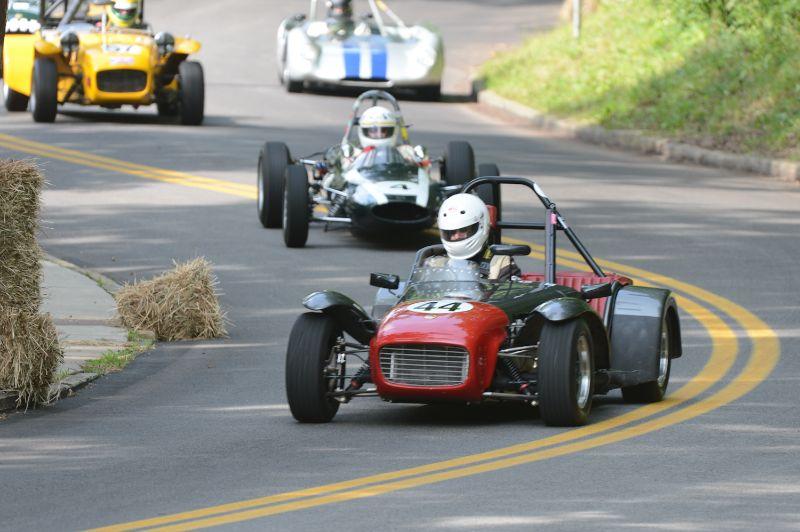 Vic Schuster 1962 Lotus 7.
