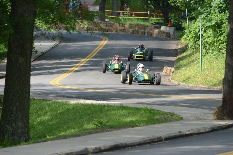 A Trio of Lotus Formula Jr's.