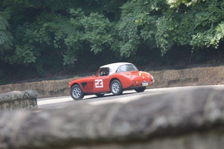 Wolf Peterson, 1962 Austin Healey 3000.