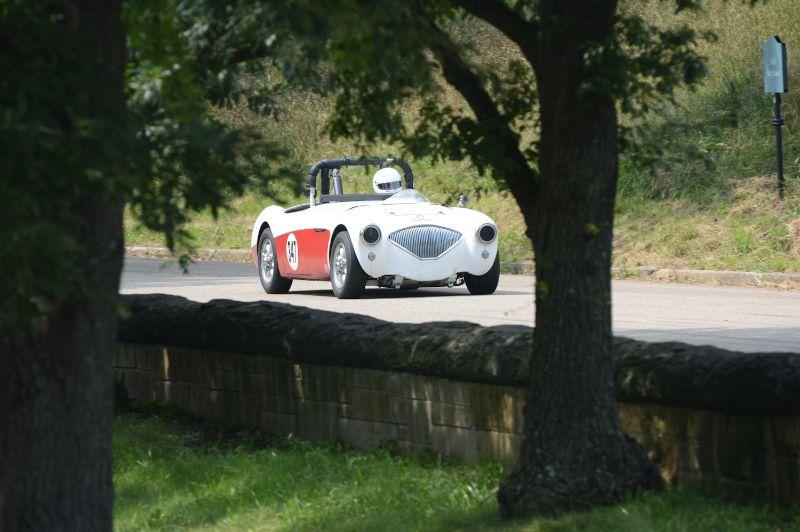 Rich Maloumian- 1956 Austin Healey 100/4.