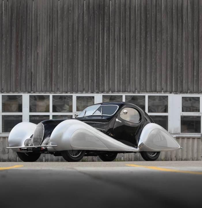 1937 Talbot-Lago T150C SS Teardrop Coupe
