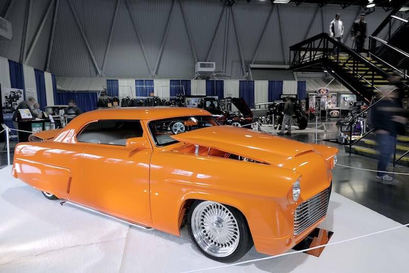 1954 Mercury 'Tangerine On Ice' built by Joe and Carol Cusumano
