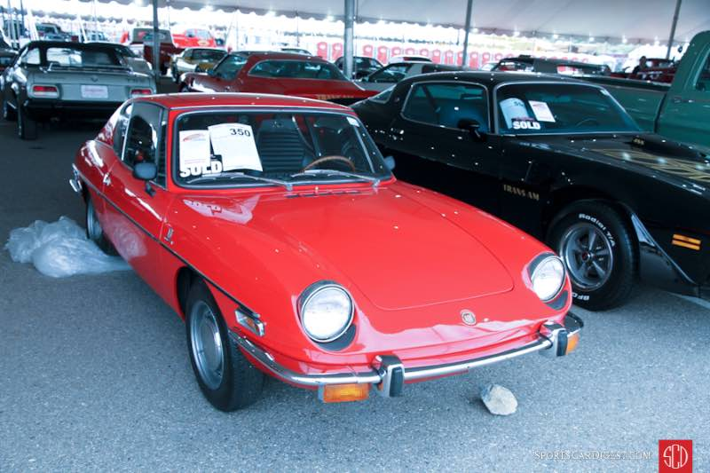 1971 Fiat 850 Sport Coupe, Body by Bertone