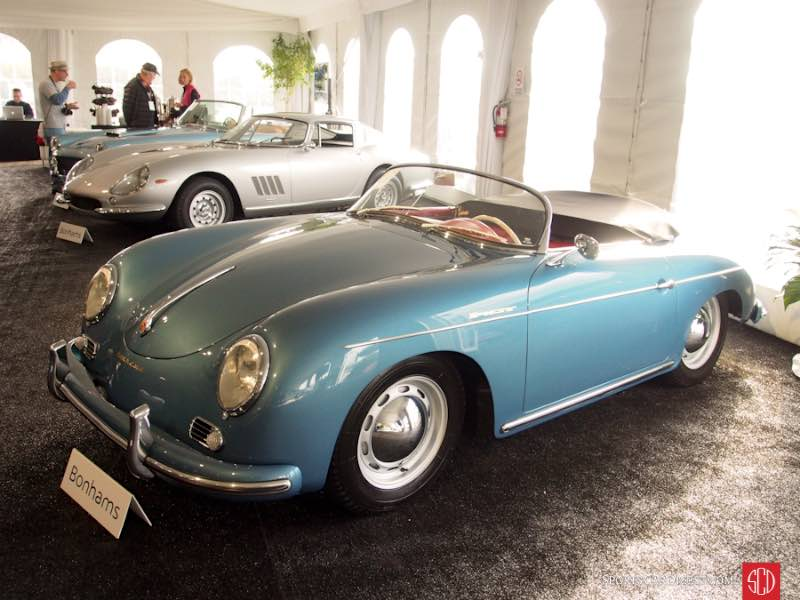 1956 Porsche 356A 1600 Speedster, Body by Reutter