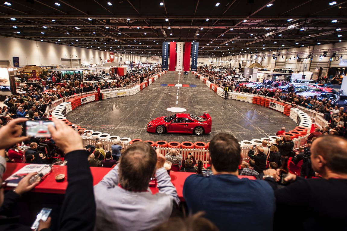 London Classic Car Show Photo Gallery Report - London classic car show