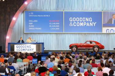 1949 Aston Martin DB Mk II sold for $1,540,000 (photo: Mike Maez)