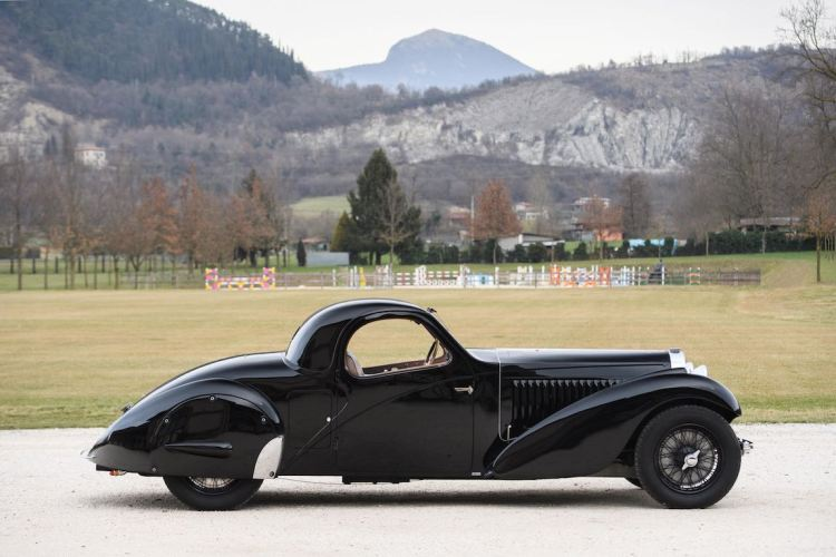 1935 Bugatti Type 57 Atalante Prototype (photo: Tim Scott)