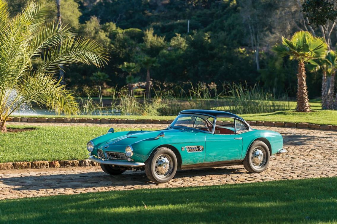 1957 BMW 507 Roadster Series I (photo: Robin Adams)