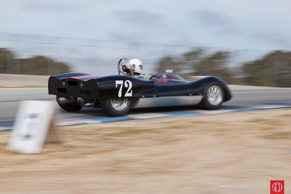 Leland Osborn in his Genie Mk.5A