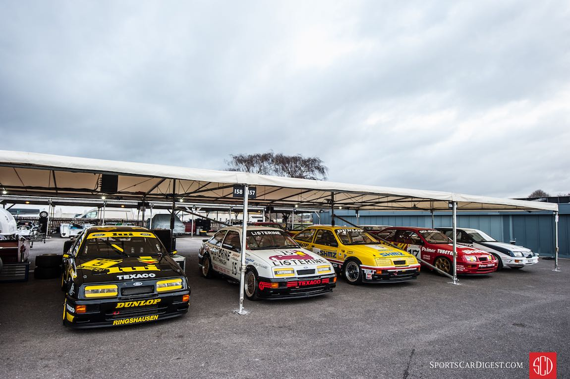 Ford Sierra Cosworth RS500 Line-up