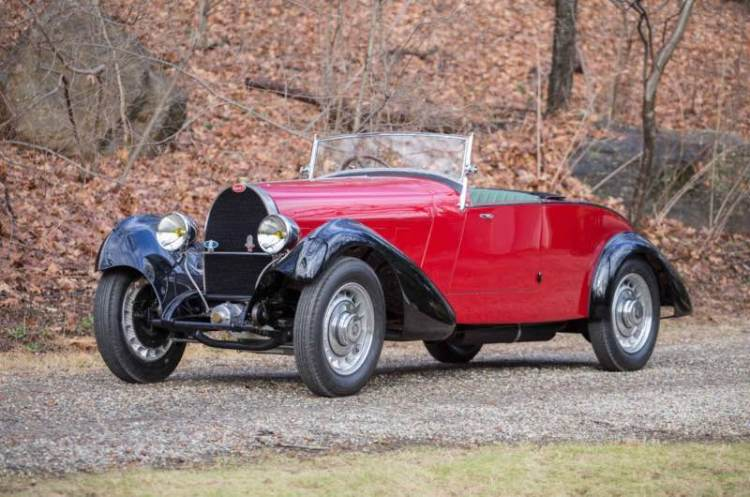 2017 Bonhams Greenwich1932 Bugatti Type 49 Roadster