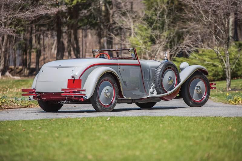 1928 Mercedes-Benz 680 S Saoutchik Torpedo Rear (photo: Daniel Olivares)