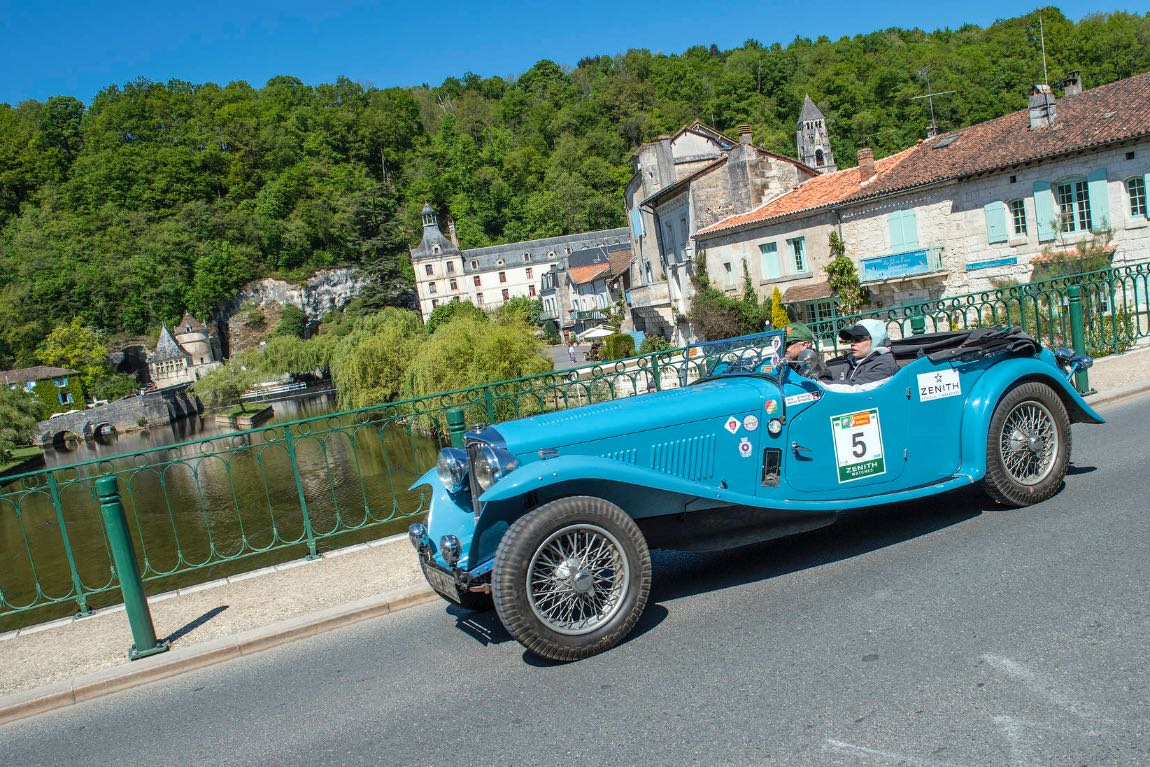 1938 AC March 16/80 Special - London to Lisbon Rally 2017