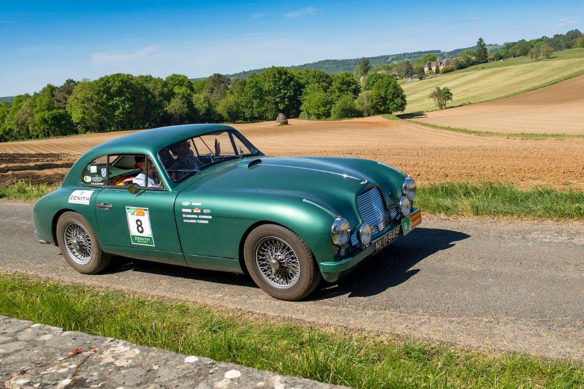 1952 Aston Martin DB2 -London to Lisbon Rally 2017