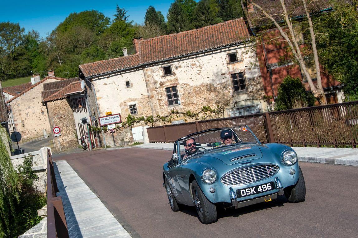 1959 Austin-Healey 3000 MkI - London to Lisbon Rally 2017