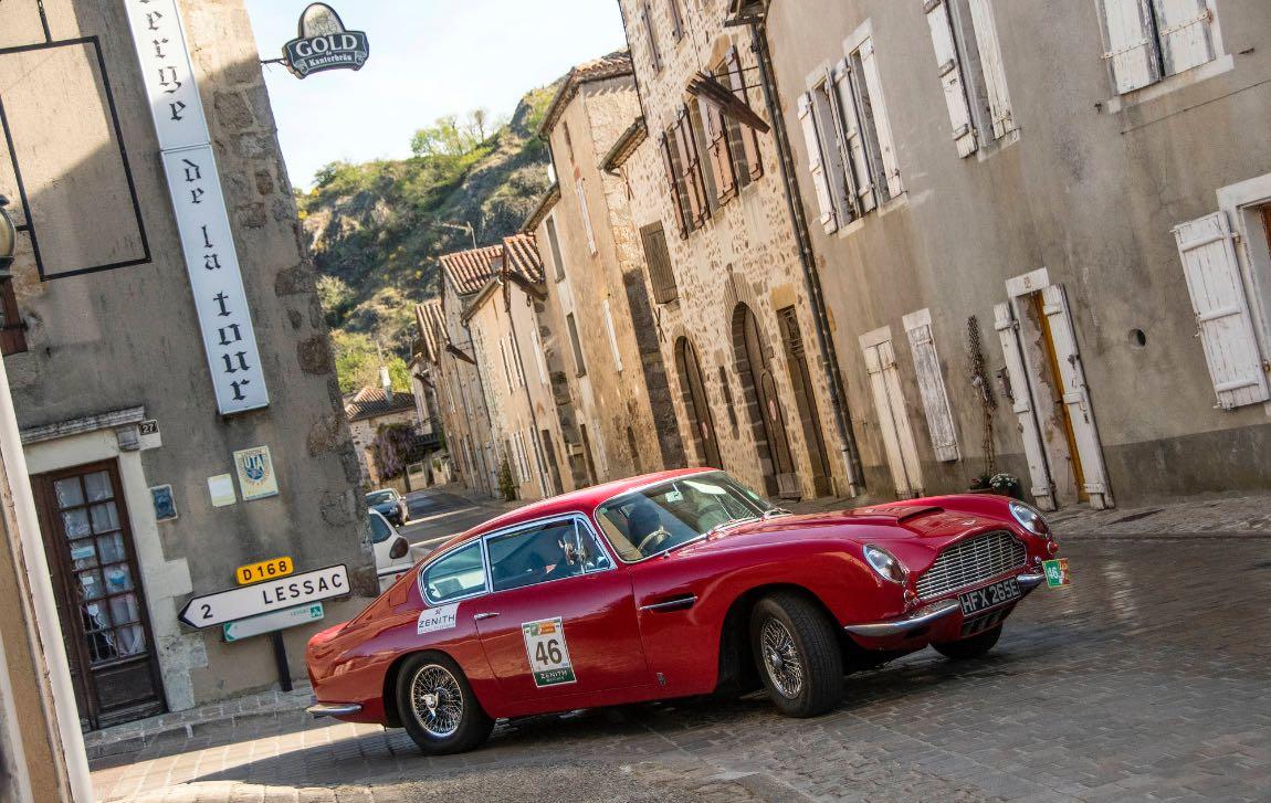 1967 Aston Martin DB6 - London to Lisbon Rally 2017