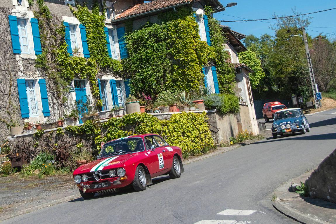 1970 Alfa Romeo GTV 1750 - London to Lisbon Rally 2017