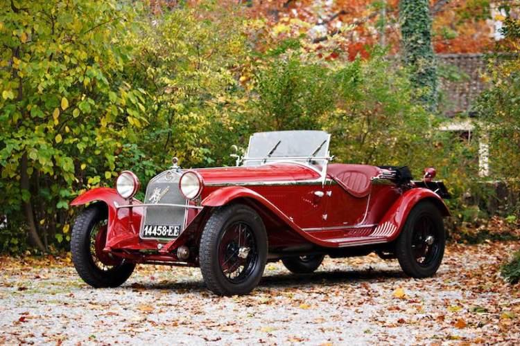 1931 Alfa Romeo 6C 1750 Series V Gran Sport