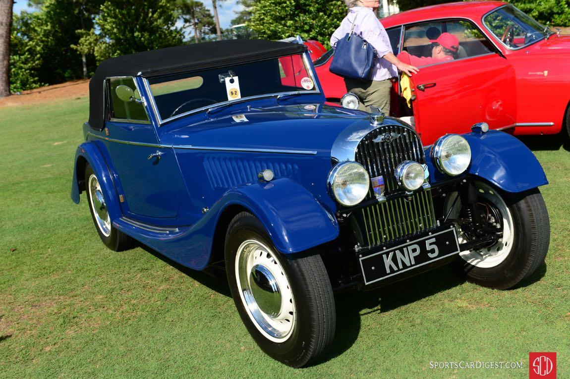 1952 Morgan Flat Radiator Drop Head Coupe.