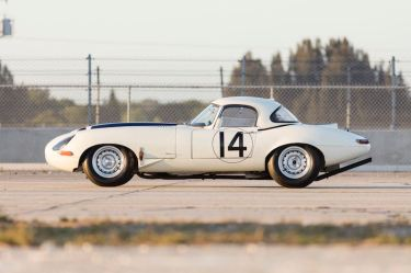 Briggs Cunningham 1963 Jaguar E-Type Lightweight, chassis S850664 (photo: Pawel Litwinski)