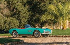 1957 BMW 507 Roadster (photo: Robin Adams)