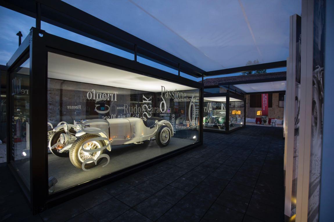 Mercedes-Benz SSK at 2017 Mille Miglia