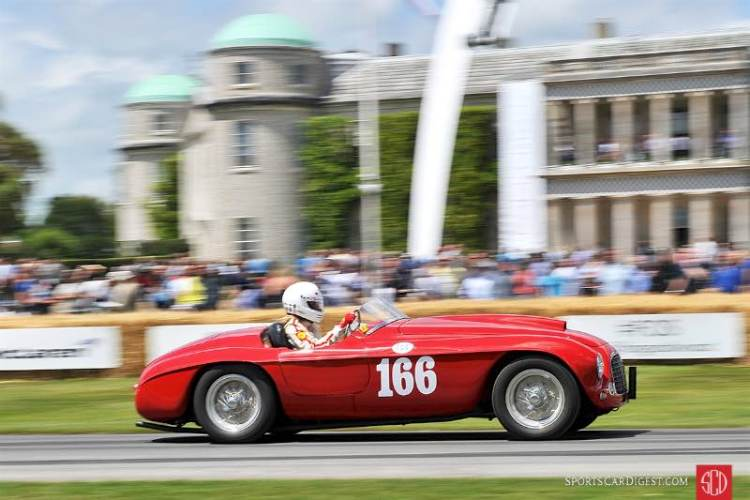 Ferrari 166 MM Barchetta of Sally Mason-Styrron