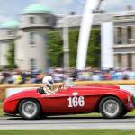 Ferrari Comp Cars in Action at Goodwood