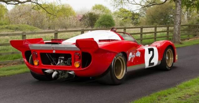 1970 Ferrari 512 S Right Rear