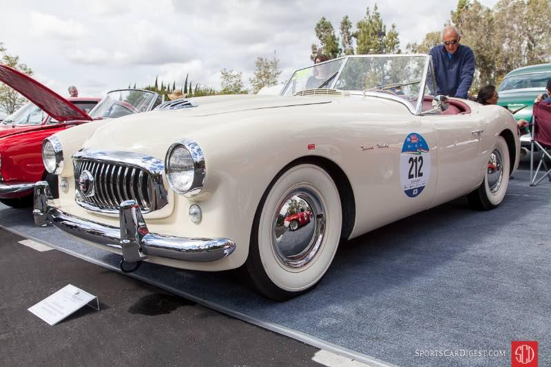 1951 Nash-Healey Spyder, owned by John Karubian
