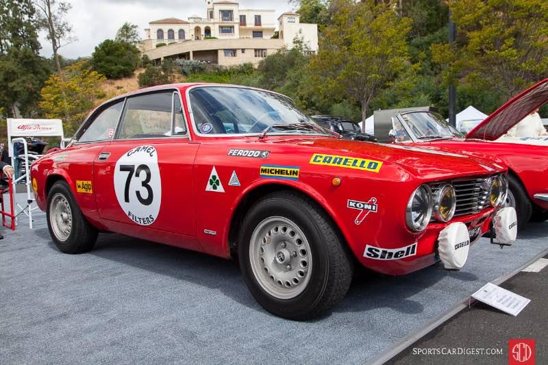 1973 Alfa Romeo Autodelta Gr.1 GTV, owned by Brandon Adrian