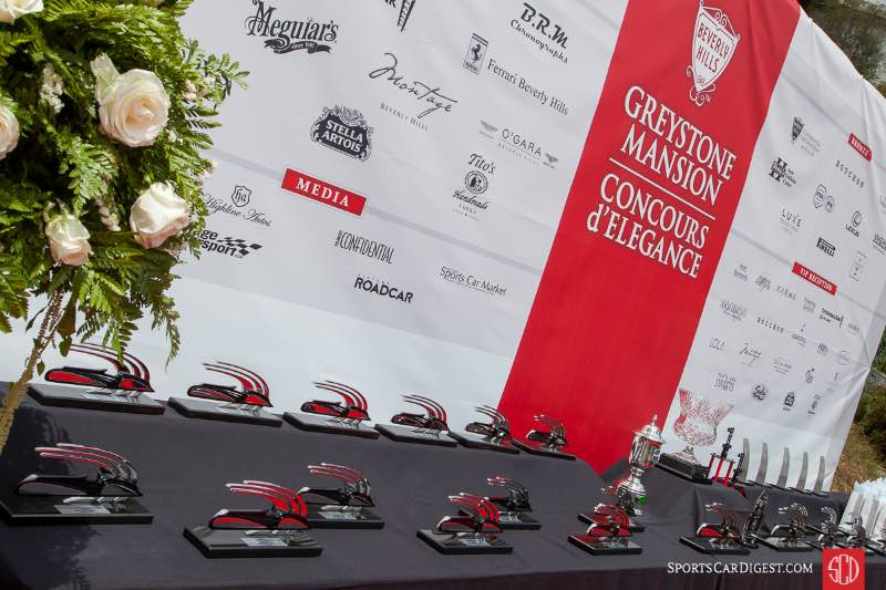 2017 Greystone Mansion Concours d' Elegance awards
