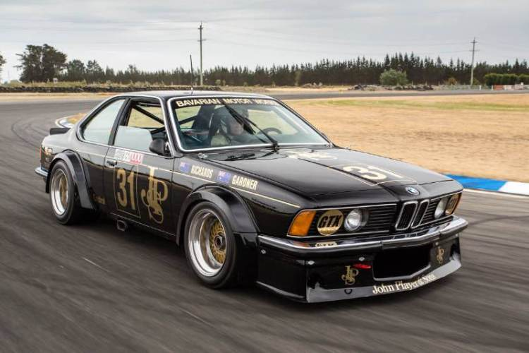 John Player Special BMW 635 CSi