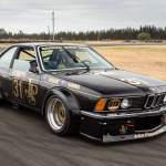 Black Beauty BMW at Silverstone Classic