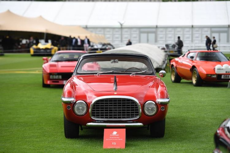 1952 Ferrari 212 Inter Vignale - London City Concours 2017 (photo: Tim Scott)