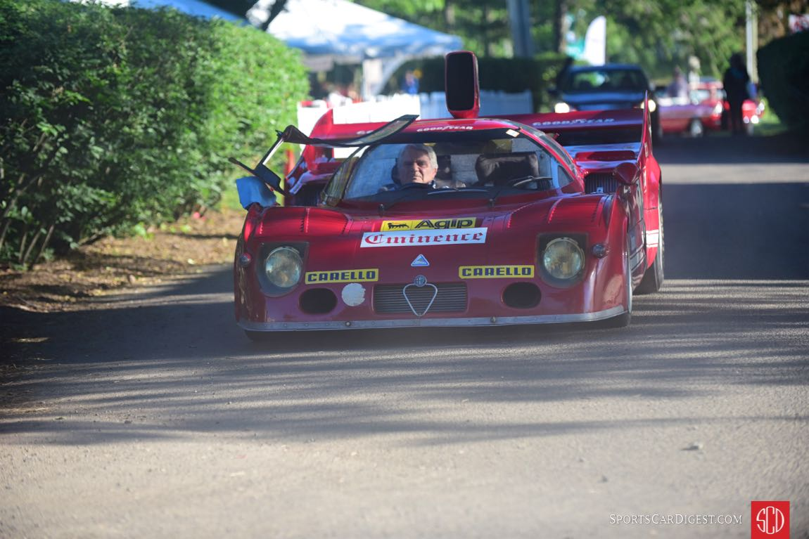 1975 Alfa Romeo Tipo 33 Coupe - Nastasi Racing.